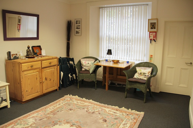 Spacious Therapy Room