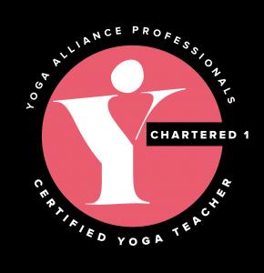 Yoga Alliance Professionals Certified Yoga Teacher, Chartered 1, logo