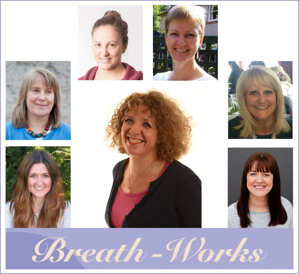 Breath-Works therapists, with Dee Taylor